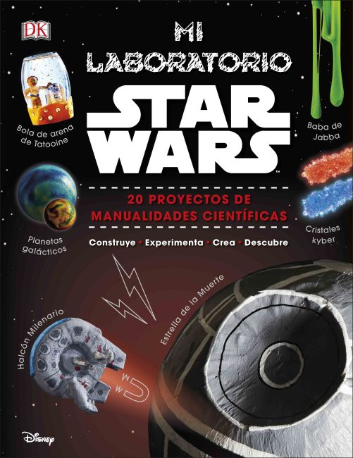Hardback cover of Mi laboratorio Star Wars