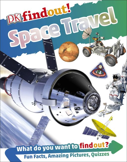 Hardback cover of DKfindout! Space Travel