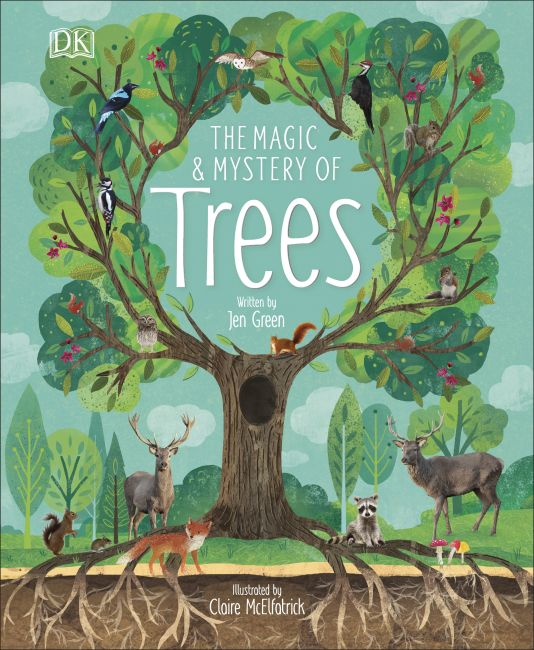 Hardback cover of The Magic and Mystery of Trees
