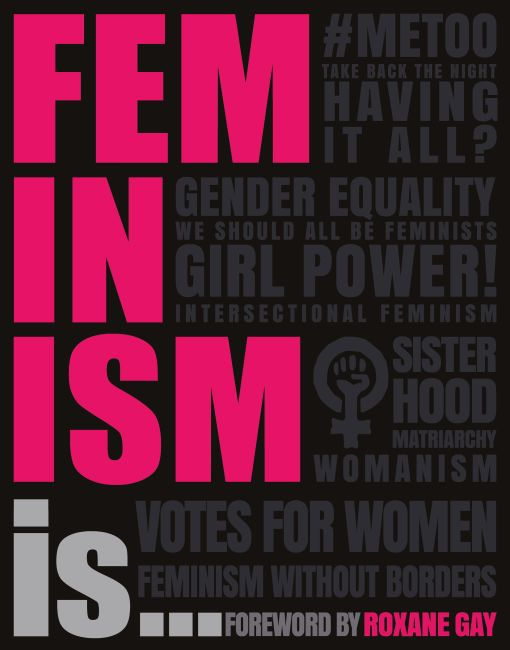 Paperback cover of Feminism Is...