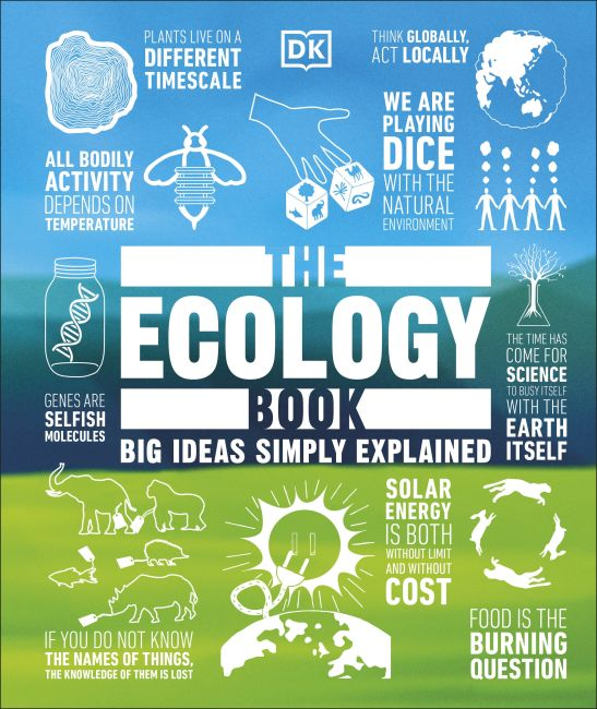 Hardback cover of The Ecology Book