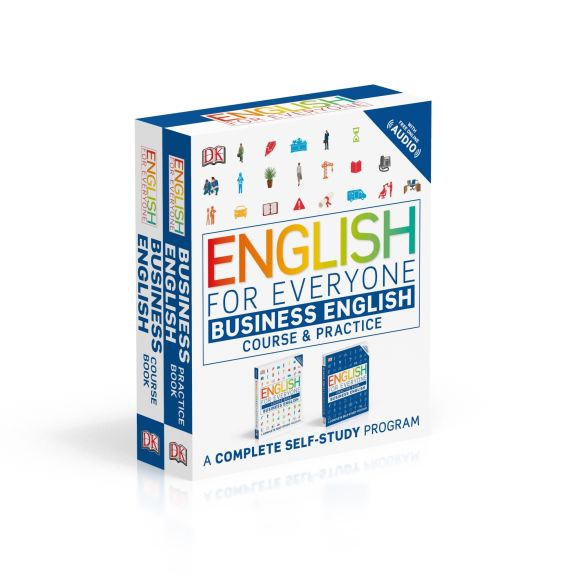 Paperback cover of English for Everyone Slipcase: Business English Box Set