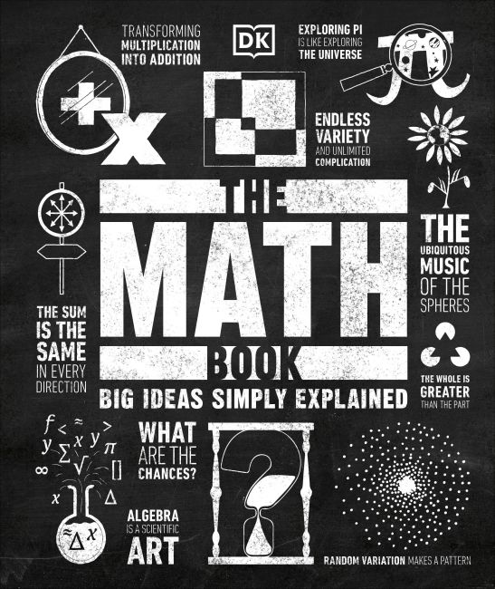 Hardback cover of The Math Book