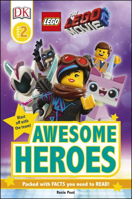Hardback cover of THE LEGO® MOVIE 2™ Awesome Heroes
