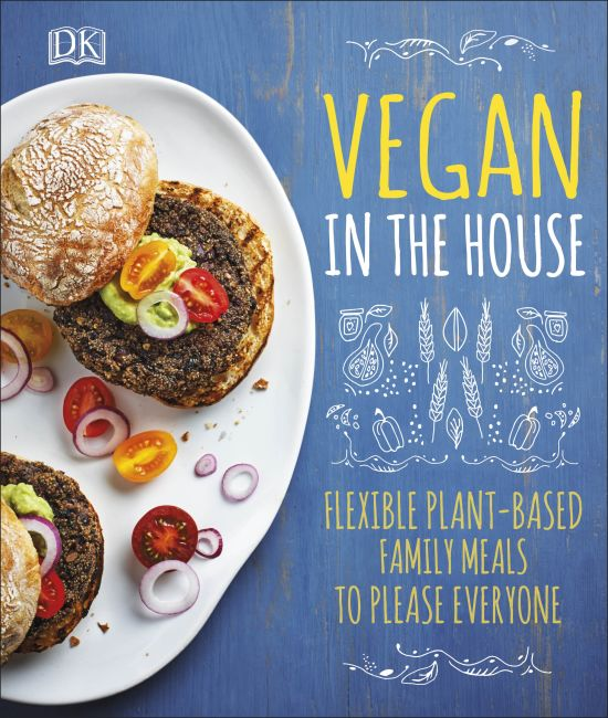 Hardback cover of Vegan in the House