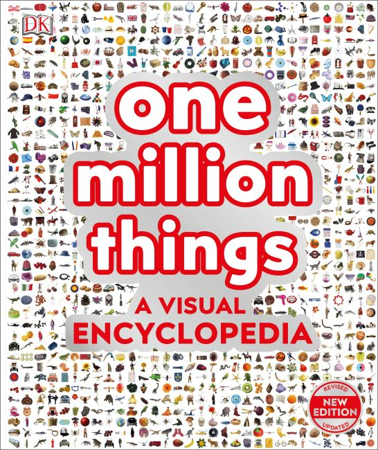 Hardback cover of One Million Things