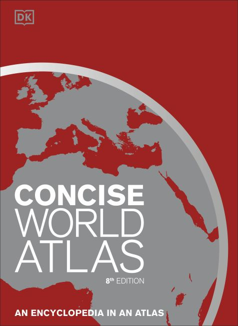Hardback cover of Concise World Atlas, 8th Edition