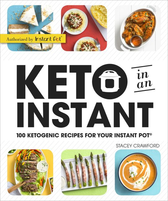 Paperback cover of Keto in an Instant