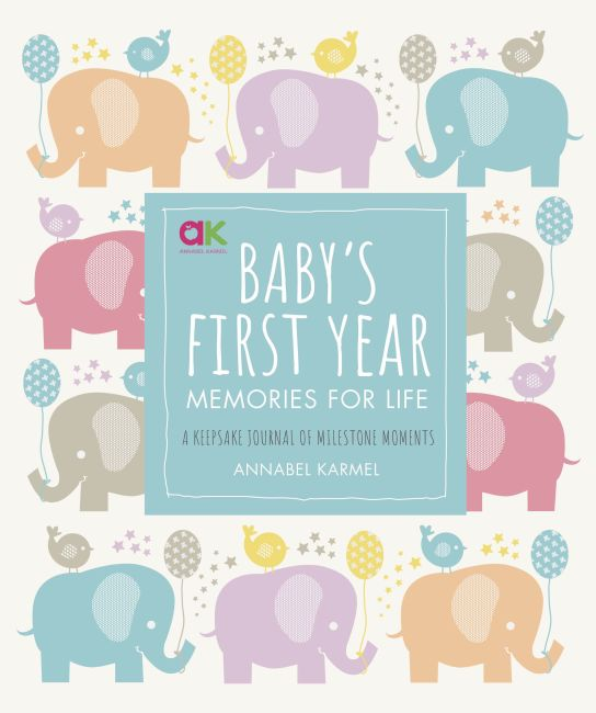 Hardback cover of Baby's First Year