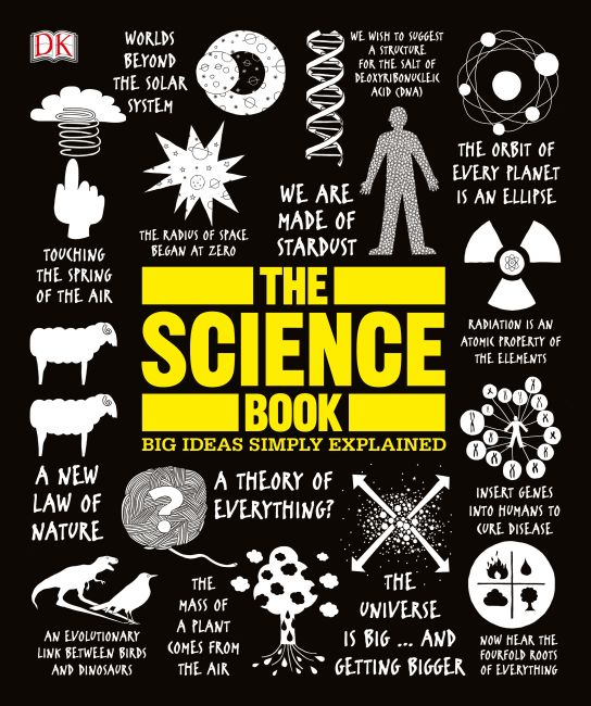 Paperback cover of The Science Book