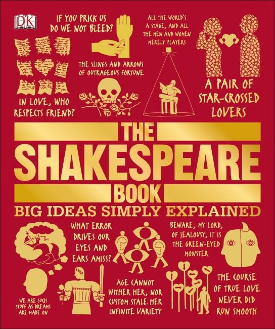 Paperback cover of The Shakespeare Book