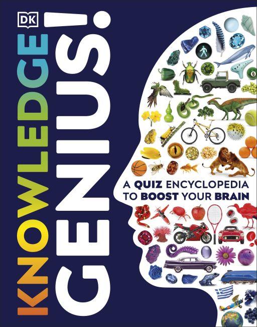 Hardback cover of Knowledge Genius!