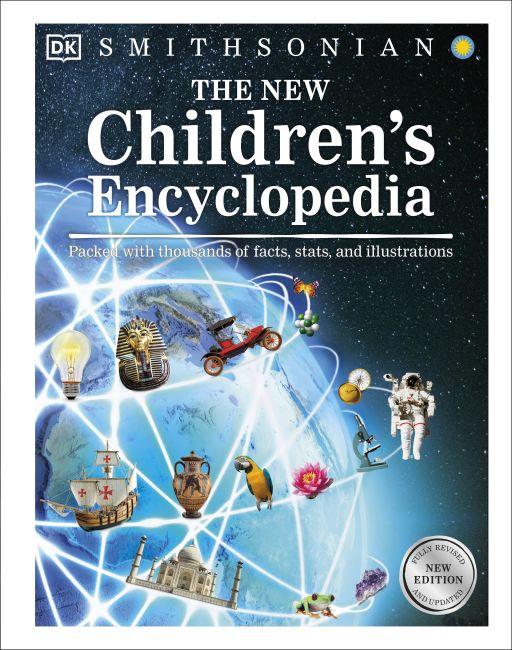 Hardback cover of The New Children's Encyclopedia