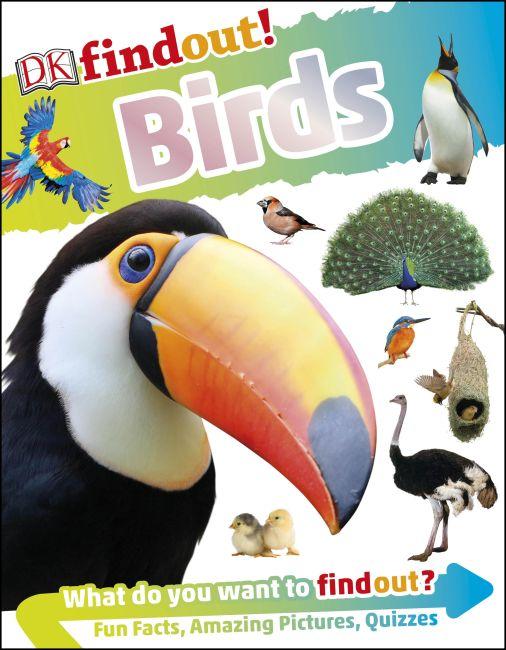 Hardback cover of DKfindout! Birds