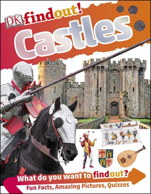 Flexibound cover of DKfindout! Castles
