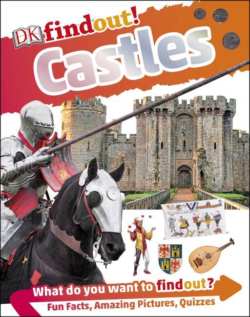 Hardback cover of DKfindout! Castles