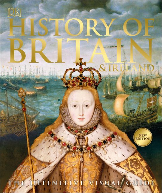 Paperback cover of History of Britain and Ireland