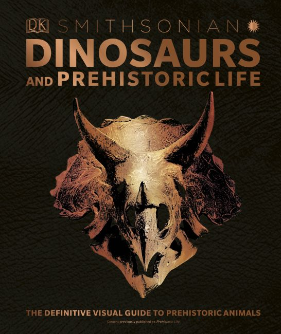 Hardback cover of Dinosaurs and Prehistoric Life