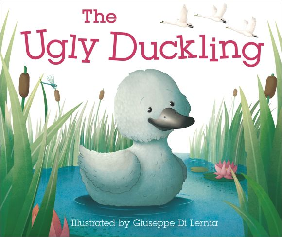 Board book cover of The Ugly Duckling