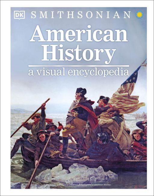 Hardback cover of American History: A Visual Encyclopedia