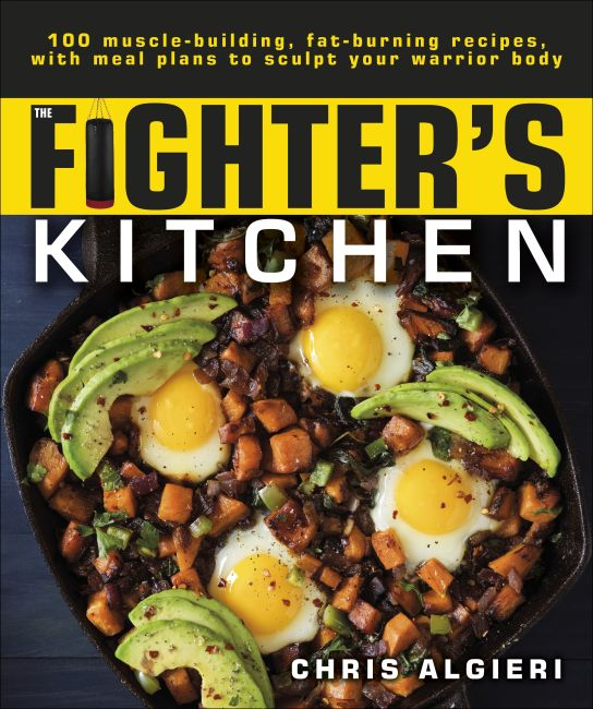 Paperback cover of The Fighter's Kitchen