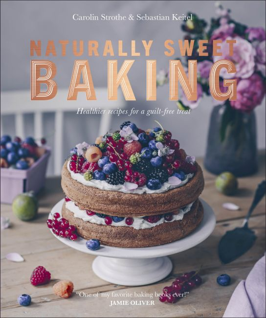 Paperback cover of Naturally Sweet Baking
