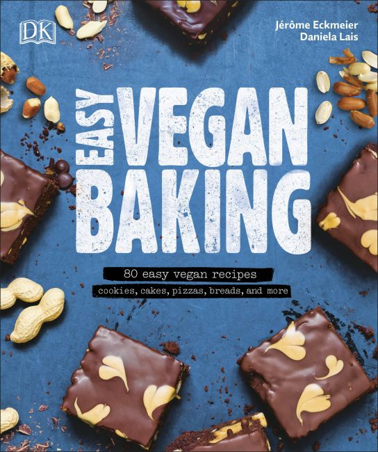 eBook cover of Easy Vegan Baking