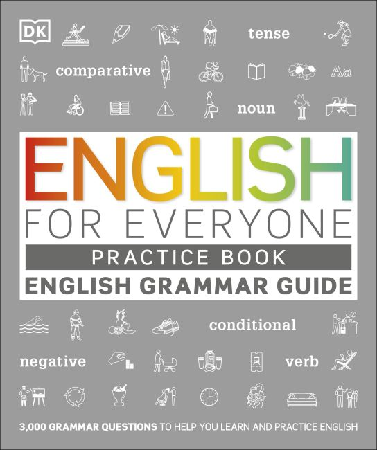 Paperback cover of English for Everyone Grammar Guide Practice Book
