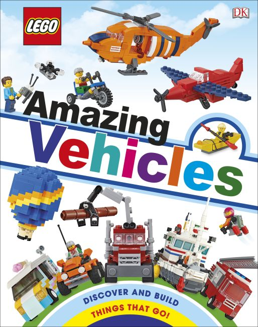 Hardback cover of LEGO Amazing Vehicles