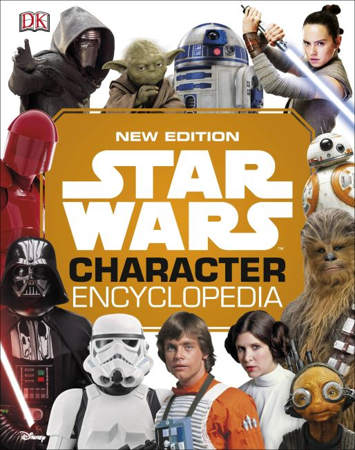 Hardback cover of Star Wars Character Encyclopedia New Edition