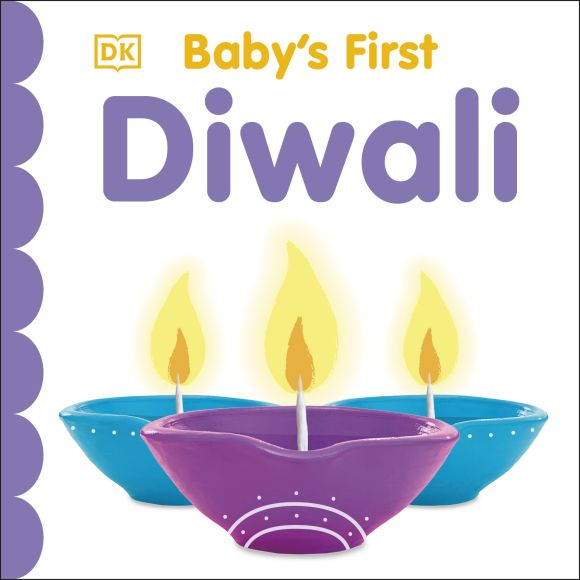 Board book cover of Baby's First Diwali