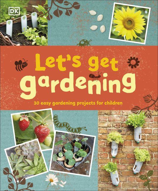 Hardback cover of Let's Get Gardening