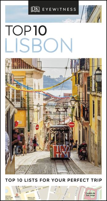 eBook cover of DK Eyewitness Top 10 Lisbon