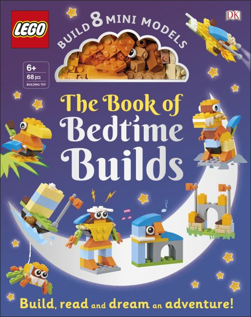 Hardback cover of The LEGO Book of Bedtime Builds