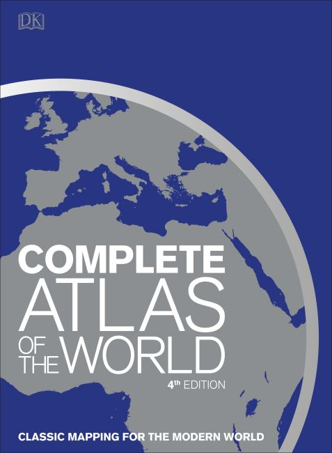 Hardback cover of Complete Atlas of the World, 4th Edition