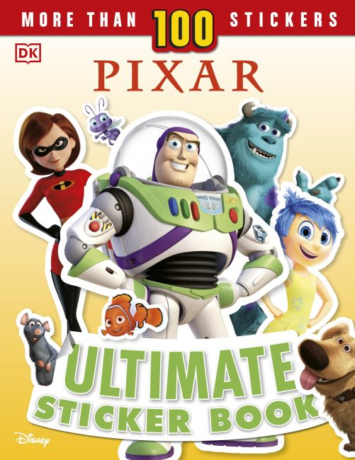 Paperback cover of Disney Pixar Ultimate Sticker Book, New Edition