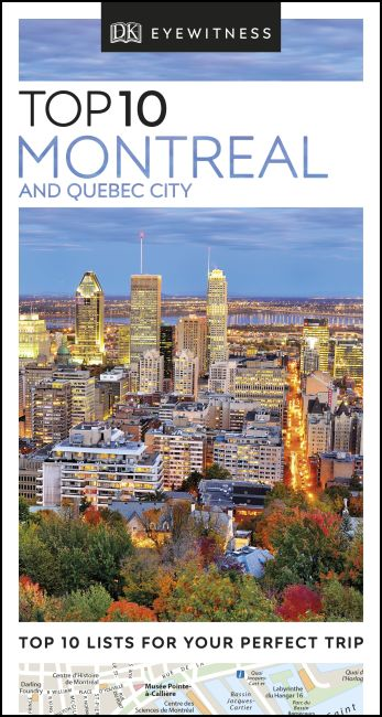 eBook cover of DK Eyewitness Top 10 Montreal and Quebec City
