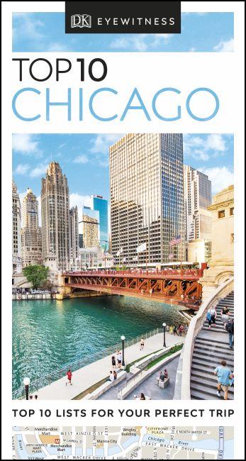 eBook cover of DK Eyewitness Top 10 Chicago