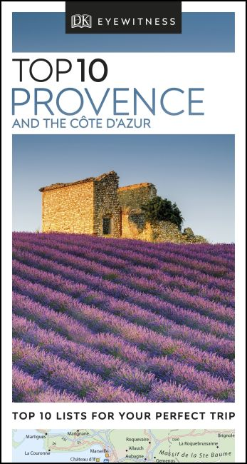 eBook cover of DK Eyewitness Top 10 Provence and the Côte d'Azur