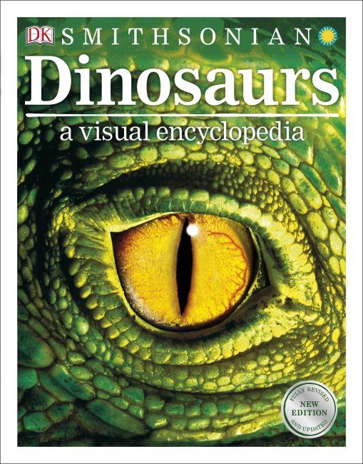 eBook cover of Dinosaurs: A Visual Encyclopedia
