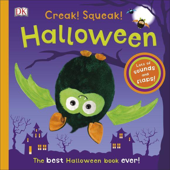 Board book cover of Creak! Squeak! Halloween