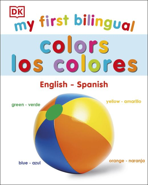 Board book cover of My First Bilingual Colors