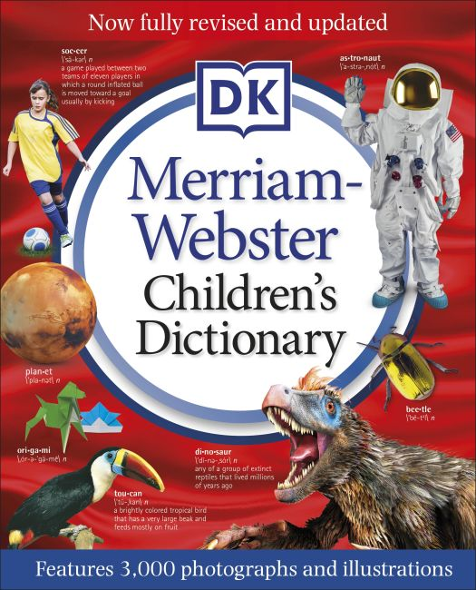 Hardback cover of Merriam-Webster Children's Dictionary, New Edition