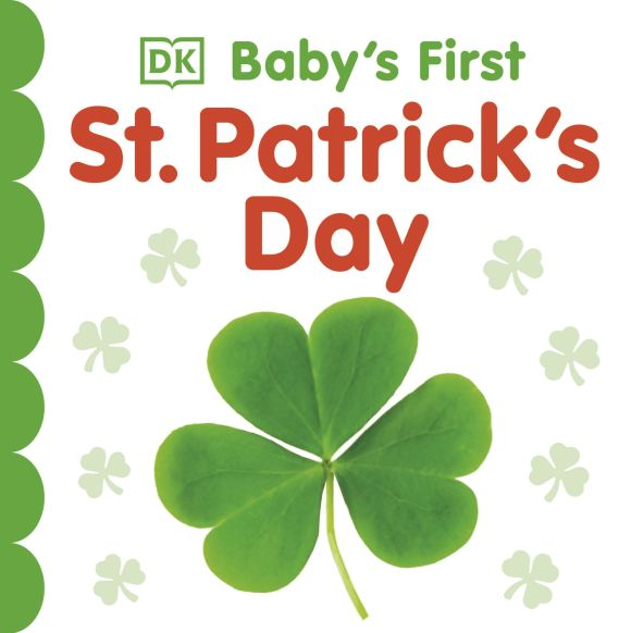 Board book cover of Baby's First St. Patrick's Day