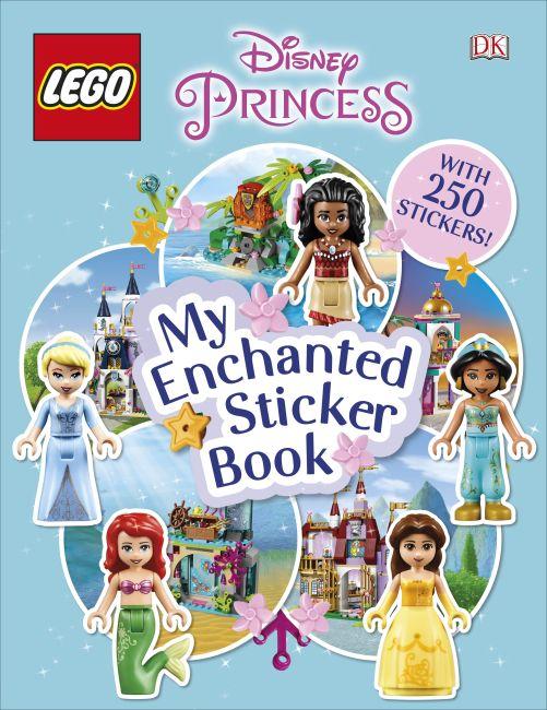 Paperback cover of LEGO Disney Princess My Enchanted Sticker Book
