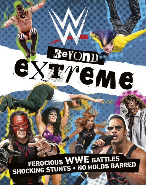 Paperback cover of WWE Beyond Extreme