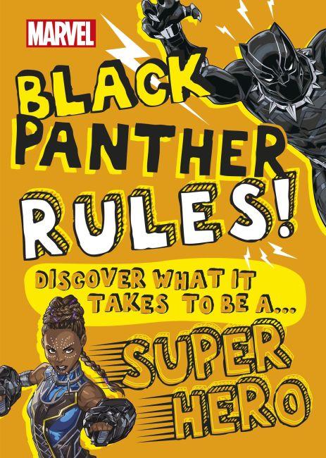 Hardback cover of Marvel Black Panther Rules!