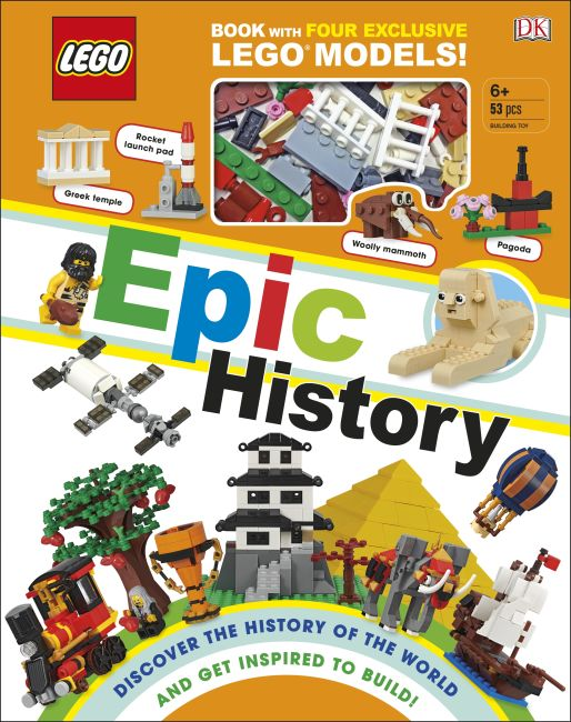 Hardback cover of LEGO Epic History