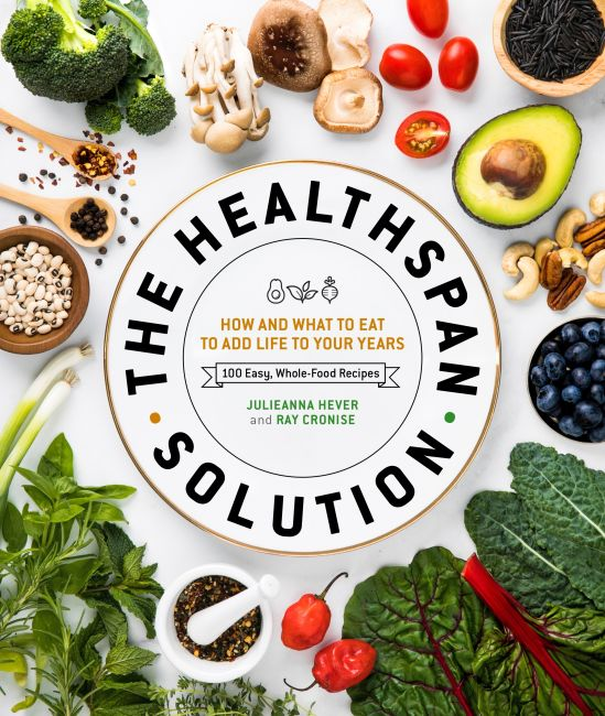 Hardback cover of The Healthspan Solution