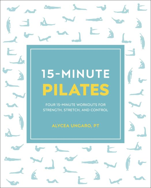 Paperback cover of 15-Minute Pilates